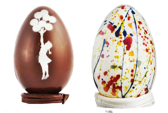 Пасхальные яйца по мотивам полотен известных художников.