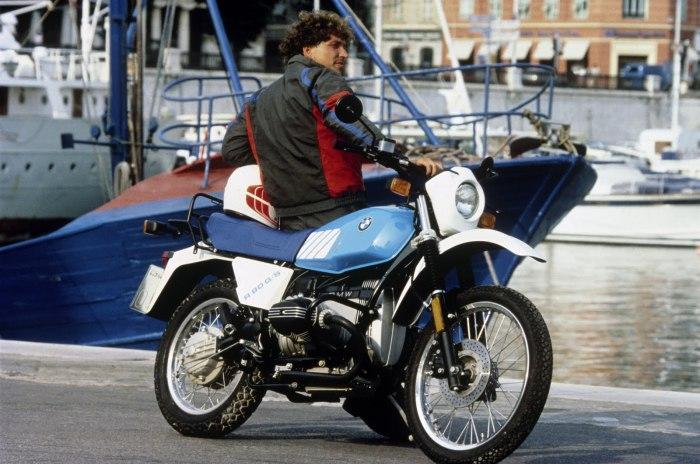 Мотоцикл BMW R 80 G/S.