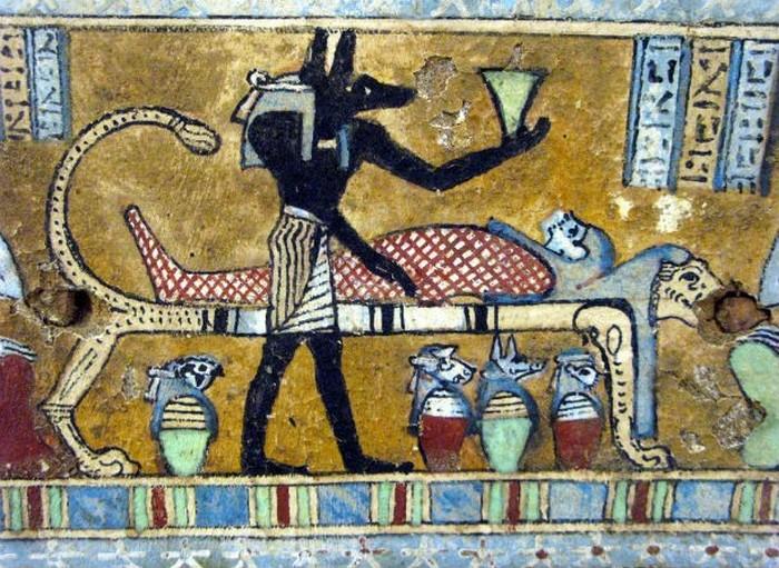 Искусство мумификации родом из Египта.