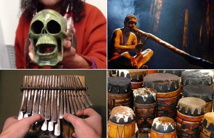 Магические музыкальные инструменты.