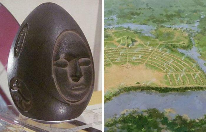 Удивительные артефакты доколумбовой эпохи.
