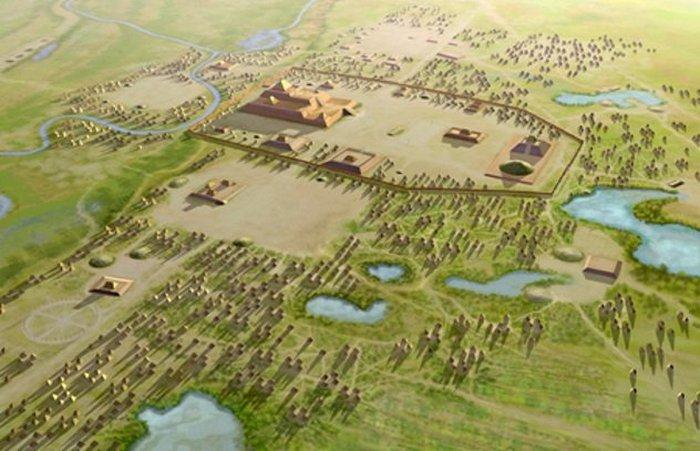 Кахокия - самый древний город доколумбовой Америки.