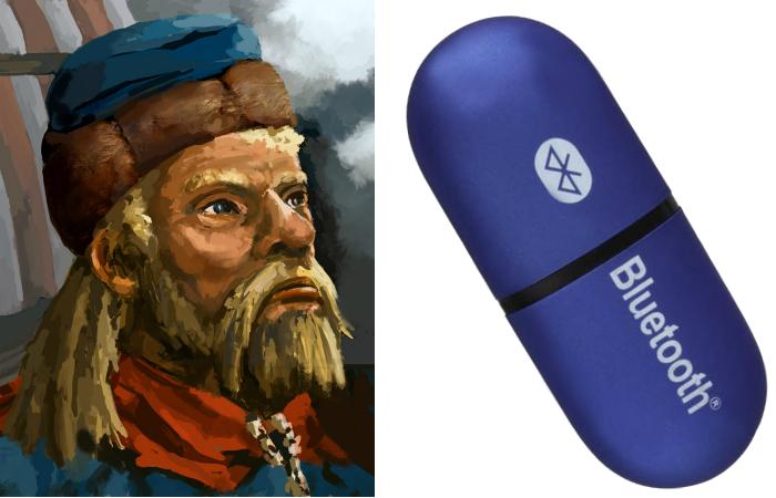 Харальда I Синезубый и Bluetooth.