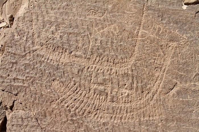 Древнейшее изображение фараона