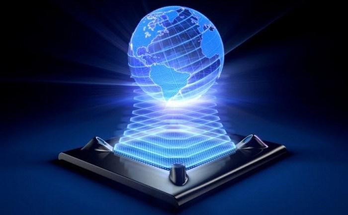 Голограммы - картинки из будущего.