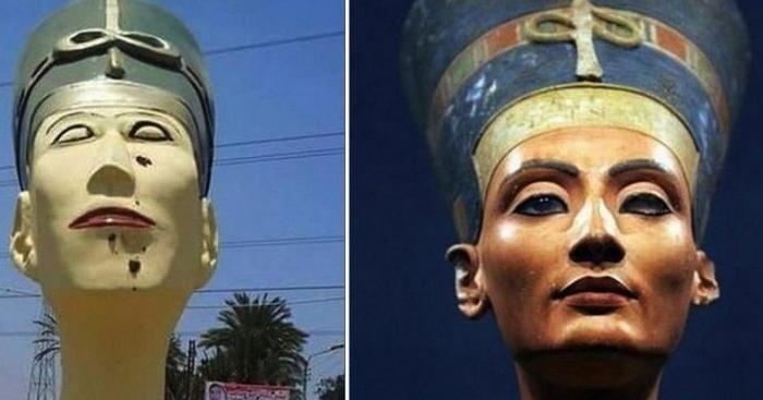 Современные скандалы, связанные с Древним Египтом.