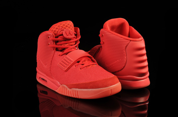 кроссовки Nike Air Yeezy 2 Red October.