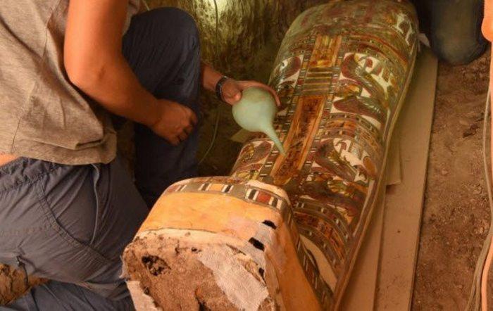 Луксорская мумия и другие артефакты Нила.