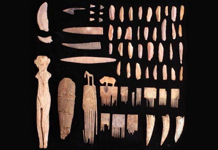 Артефакты с руины Гиераконполиса