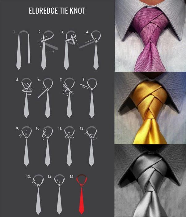 Как завязать галстук.