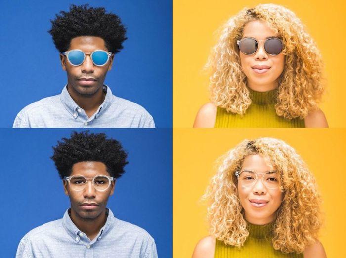 Oculuste sunglasses - самые «гибкие» очки в плане дизайна.