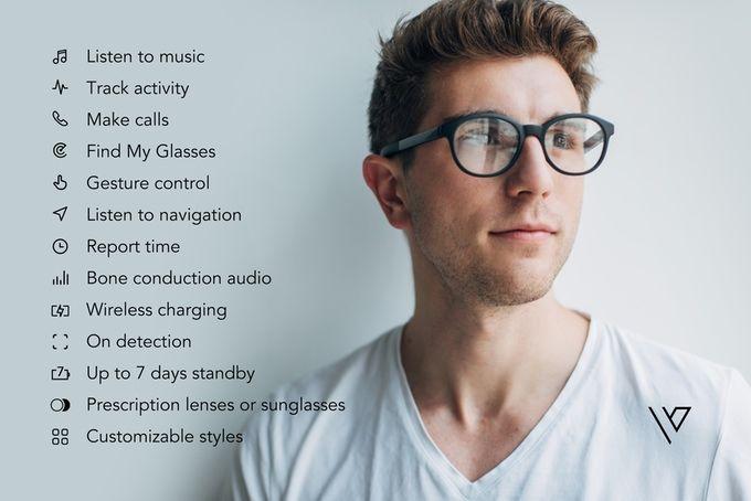 Vue Smart Eyeglasses - очень умные очки.