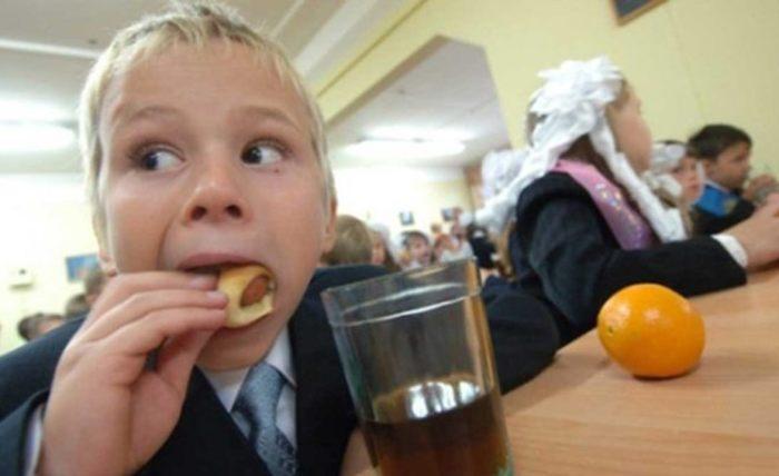 Школьные обеды.