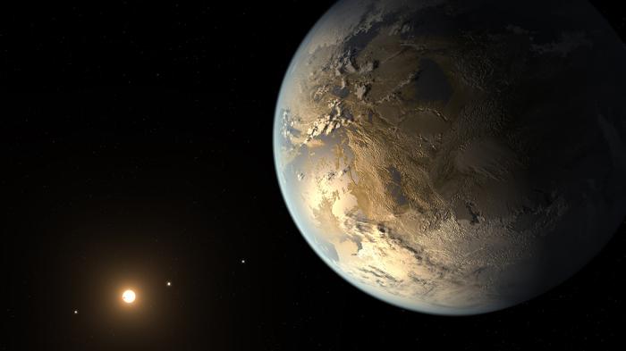 Учёные предполагают, что Кеплер-62e может выглядеть так.