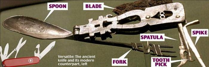 Швейцарский армейский нож.