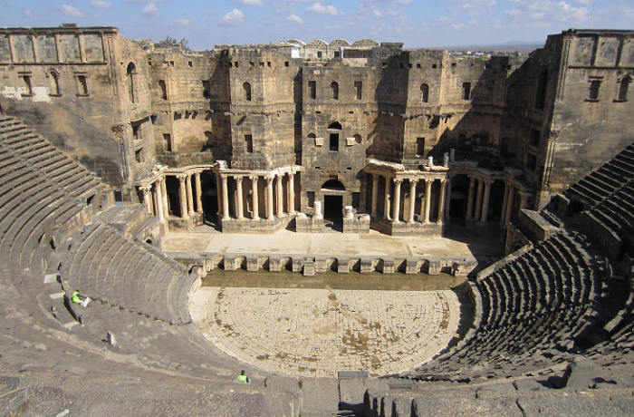 Римский театр в Босре (Сирия).