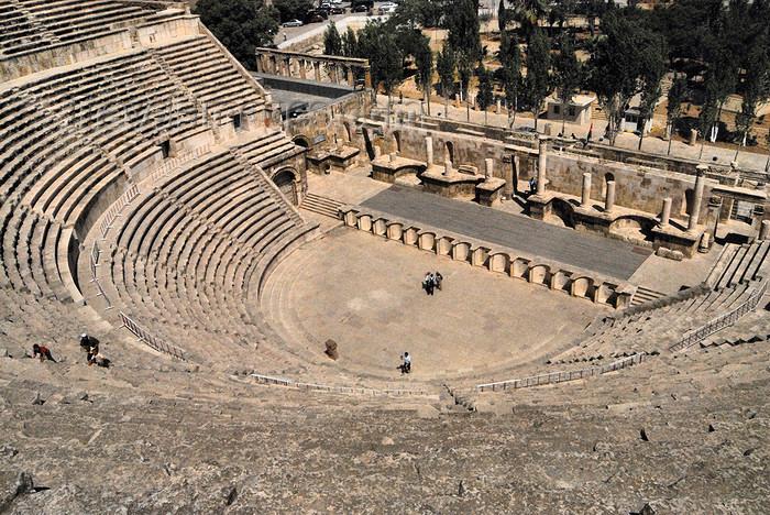 Римский театр в Аммане (Иордания)