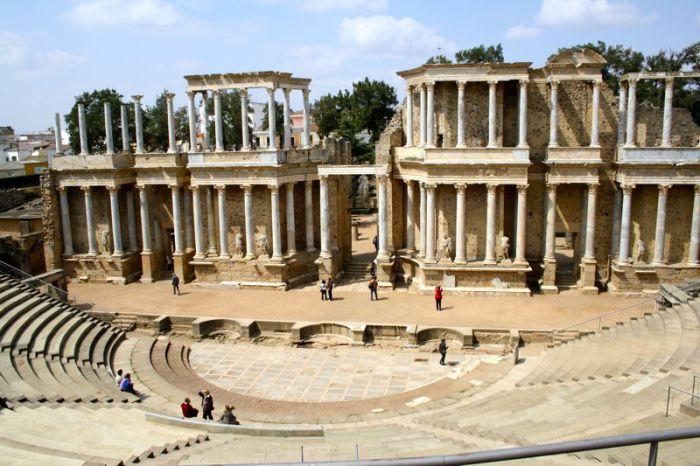 Театр в Мериде (Испания)
