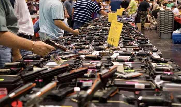 США - лидер по количеству огнестрельного оружия.