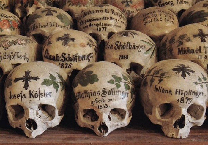 Невероятные образы смерти, которые способны испугать каждого.