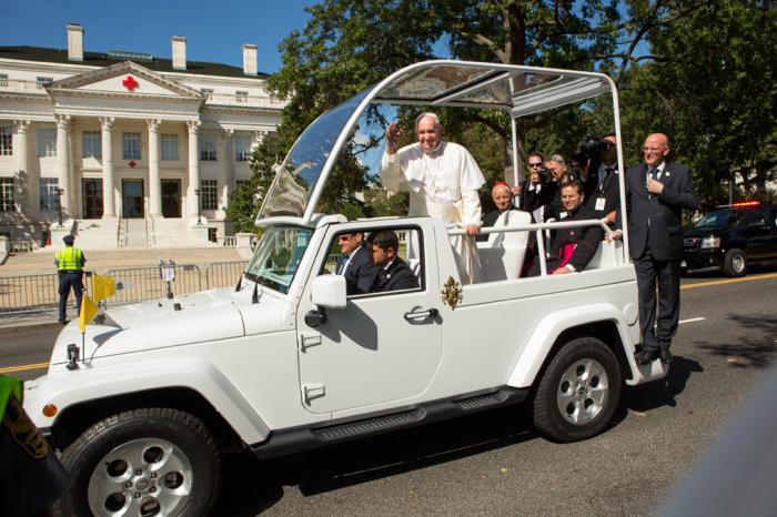 Автомобили Ватикана.