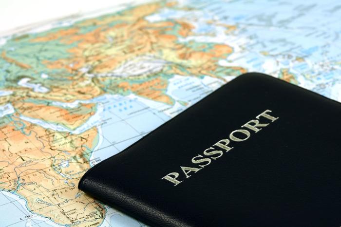А какой цвет обложки под вашим паспортом?