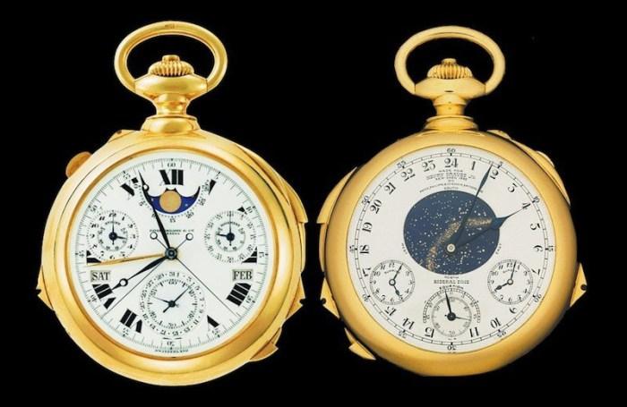 Patek Philippe, Henry Graves Jr. Supercomplication Pocket Watch.