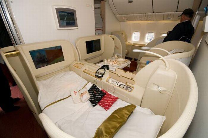 Первый класс на самолетах.