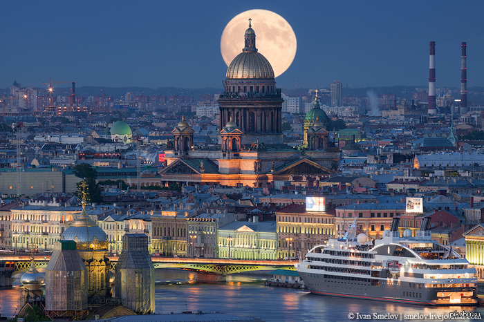 Санкт-Петербург - культурная столица России.