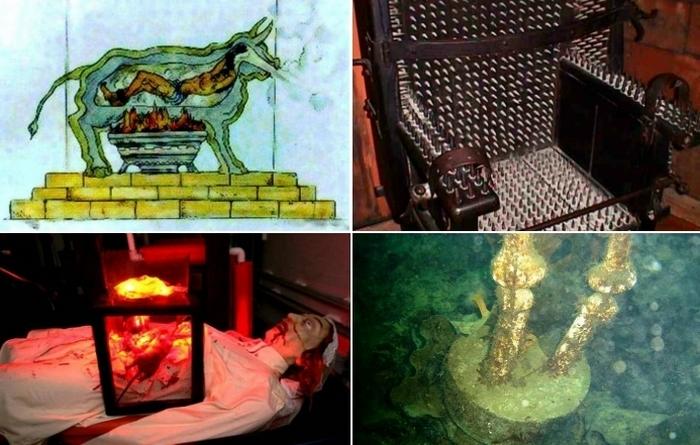 Самые жестокие методы пыток в истории человечества.