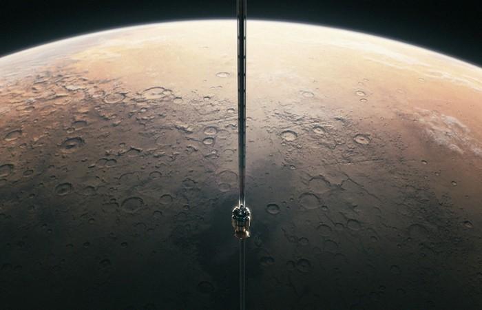 Планета Плутон:  космический лифт реален.