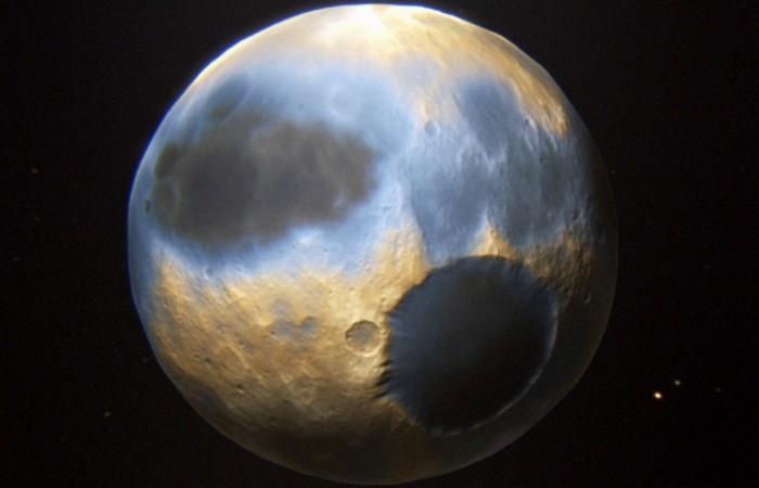 Планета Плутон: небо цвета «голубой электрик».