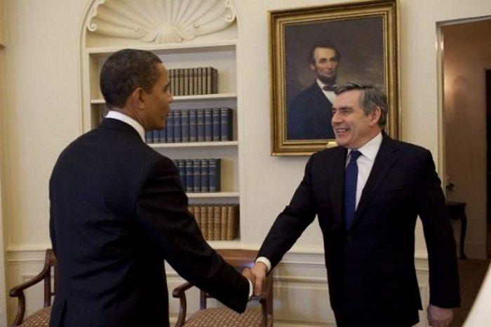 Привет от Обамы.