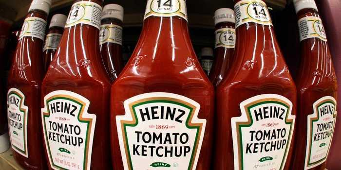 Кетчуп Heinz.