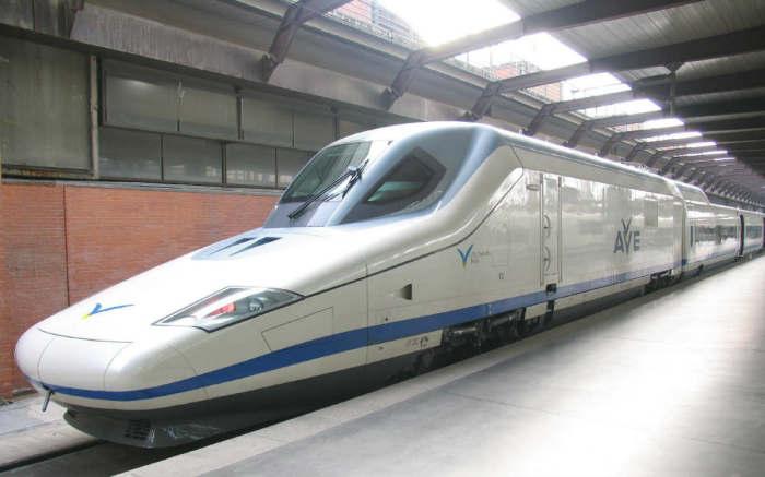 Испанский Talgo 350.