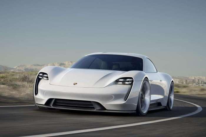 Porsche MissionE2 - замый *зелёный* спорткар.