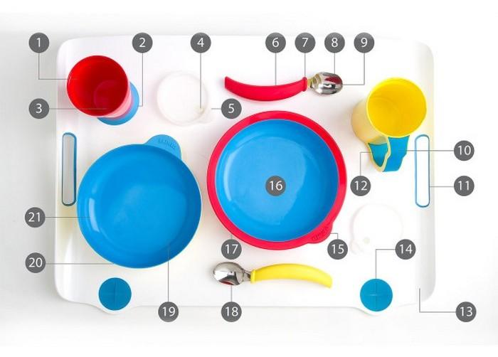Посуда для больных деменцией.