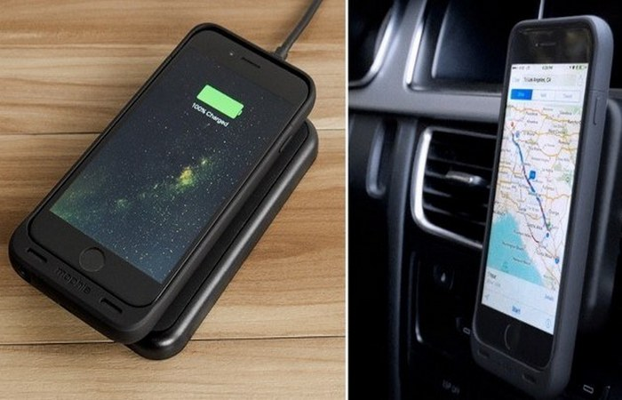 Беспроводная зарядная база Mophie Juice Pack (iPhone 6 / 6S).