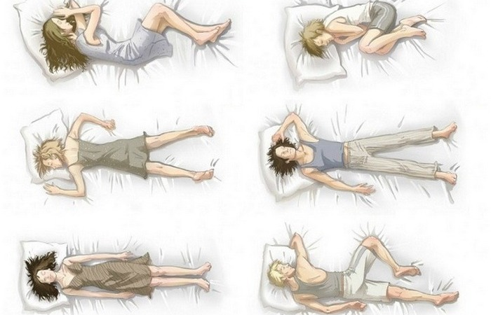 6 основных поз сна, которые могут много чего рассказать о человеке.