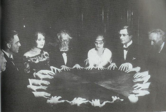Спиритизм - общение с духами.