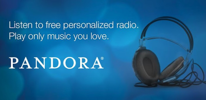 Pandora Internet Radio.