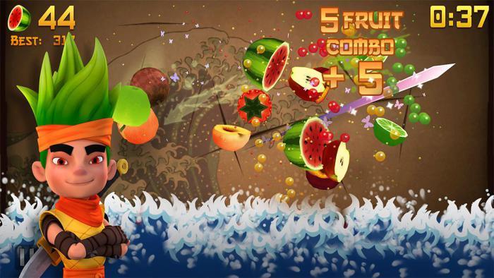 Fruit Ninja Free.