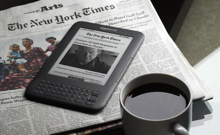 Amazon Kindle.