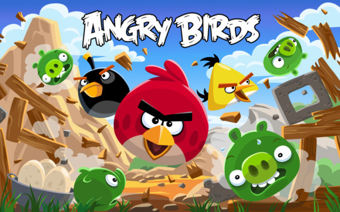 Angry Birds Free.