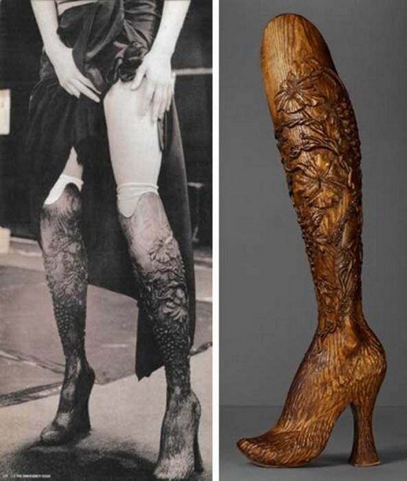 Деревянная нога.