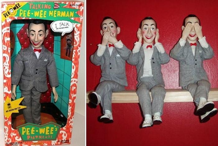 Кукла Пи-Ви Герман.