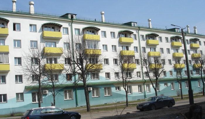 Самый ходовой вариант реконструкции белорусских пятиэтажек