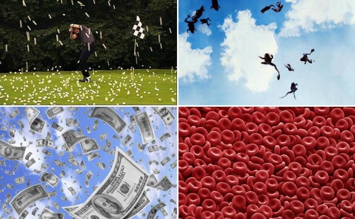 10 странных вещей, которые падали с неба