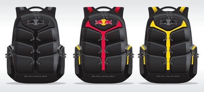 Red Bull backpacks - стильная линейка одноименного бренда.