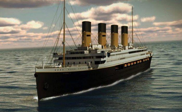 Реплика Титаника.